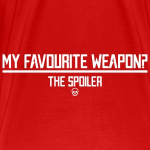 Favourite Weapon - Men's Premium T-Shirt