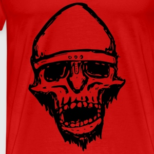 Warrior Skull - Premium T-skjorte for menn