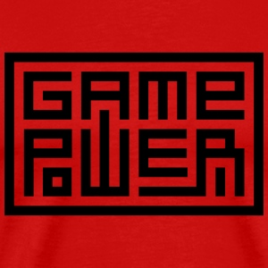 Game Power - T-shirt Premium Homme