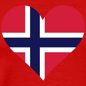 A Heart For Norway - Men's Premium T-Shirt
