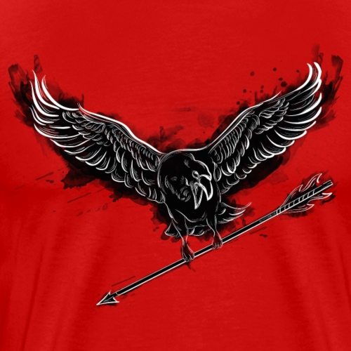The Harbinger – Black (Bogenschießen by BOWTIQUE) - Männer Premium T-Shirt