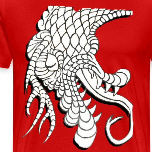 Design Number (6) - Mannen Premium T-shirt