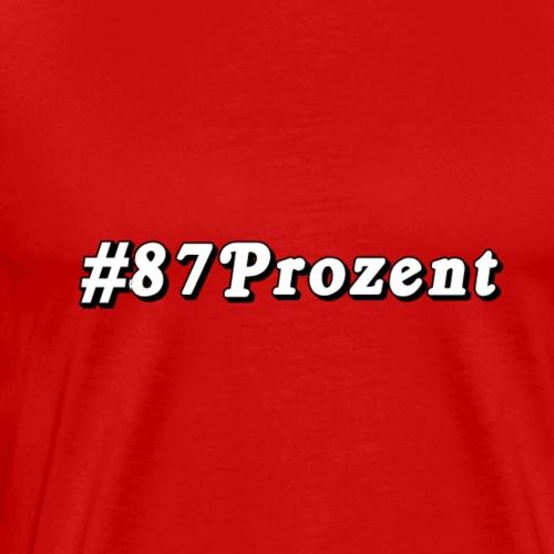87Prozent - Männer Premium T-Shirt