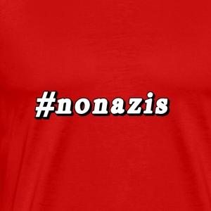 #nonazis - Männer Premium T-Shirt