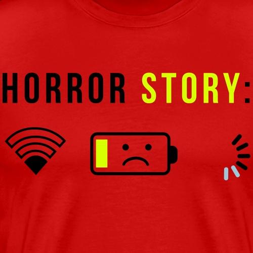 horror story - T-shirt Premium Homme
