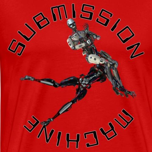 SUBMISSION MACHINE ARMBAR - Men's Premium T-Shirt