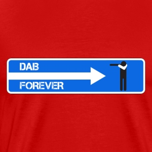 DAB FOREVER WHITE - Men's Premium T-Shirt