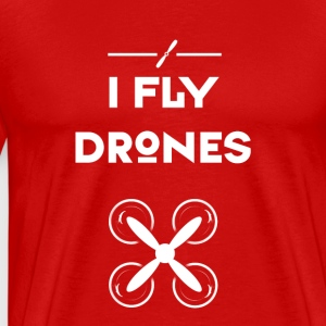 Drone fly heli flight control drones quadrocopt - Men's Premium T-Shirt