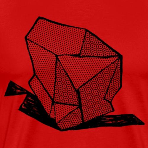 ROCK No 1 b w - Mannen Premium T-shirt