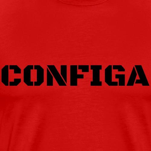 Configa Logo - Men's Premium T-Shirt