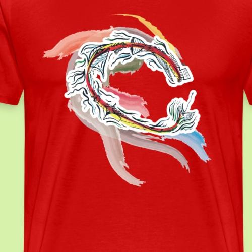 Queen-Dragon - T-shirt Premium Homme