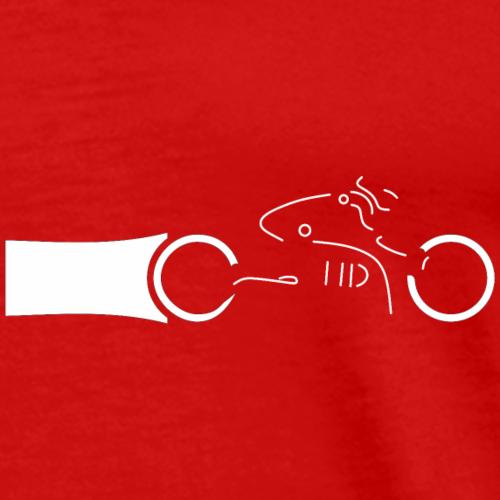 Motocyklista - Koszulka męska Premium