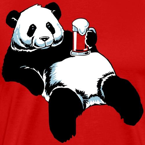 Partnershirt Panda - Papa - Männer Premium T-Shirt