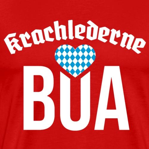 Krachlederne Bua - Oktoberfest - Männer Premium T-Shirt