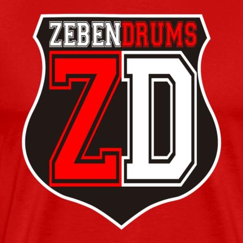 Logo Zebendrums - Camiseta premium hombre