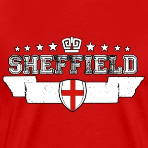 Sheffield - Premium-T-shirt herr