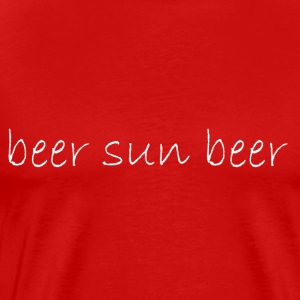 beer_sun_beer - Men's Premium T-Shirt