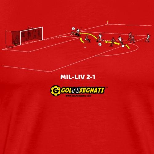 MIL- LIV 2-1|2007 - Maglietta Premium da uomo