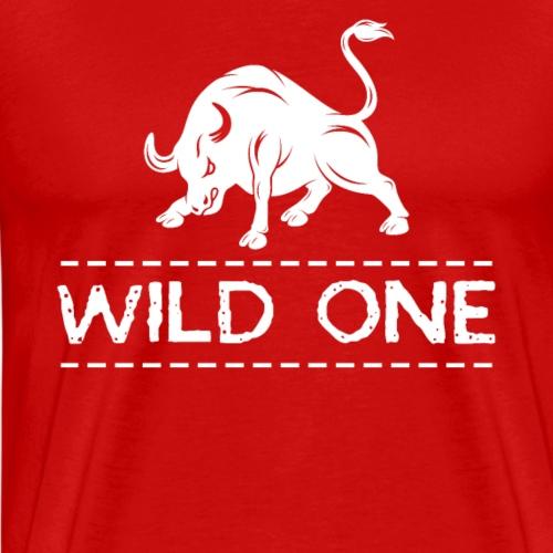 Wild One | Stier - Männer Premium T-Shirt