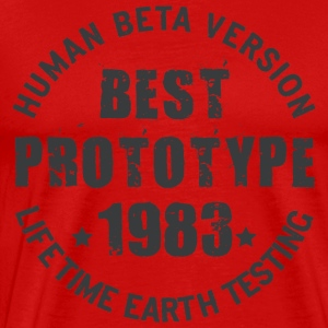 1983 - The year of birth of legendary prototypes - Men's Premium T-Shirt
