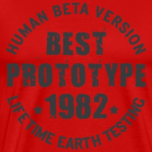 1982 - The year of birth of legendary prototypes - Men's Premium T-Shirt