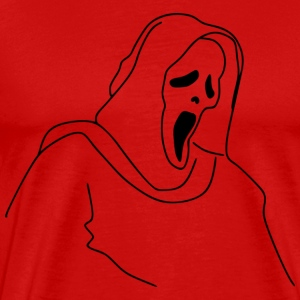 Scream - Premium-T-shirt herr