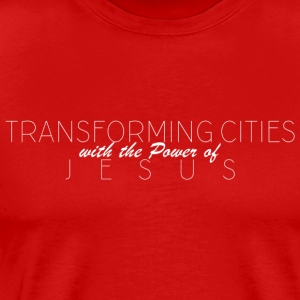 TransformingCities - Mannen Premium T-shirt