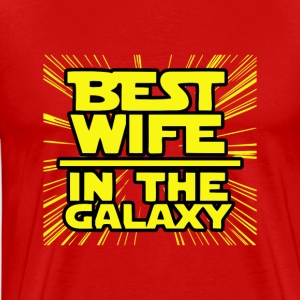 Best Wife - Premium T-skjorte for menn