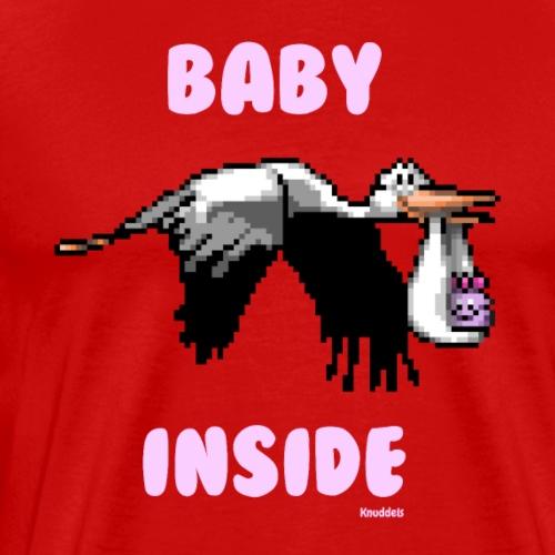Babyinside - Girl - Männer Premium T-Shirt