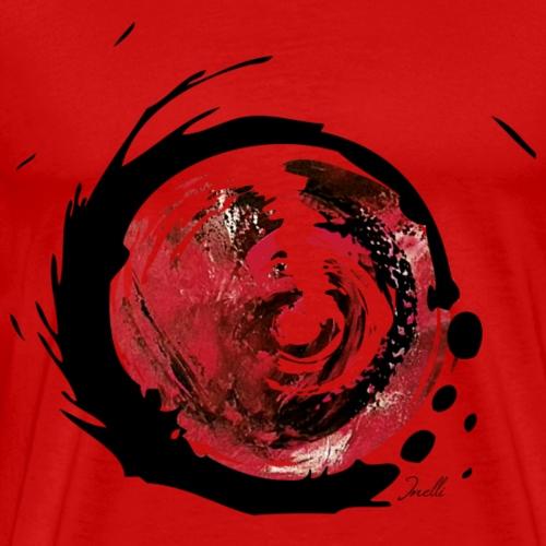 Moderne Kunst Wirbel - Männer Premium T-Shirt