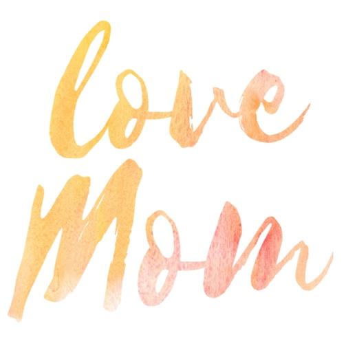 Love Mom - Männer Premium T-Shirt