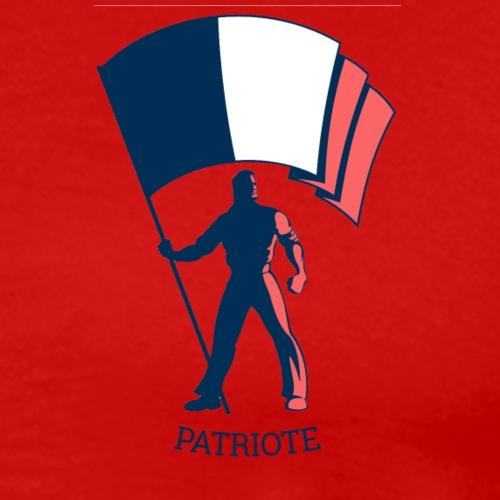 Drapeau patriote info style 11 - T-shirt Premium Homme