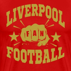 Liverpool_Fan - Premium T-skjorte for menn
