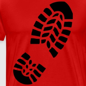 footprint1 - Mannen Premium T-shirt