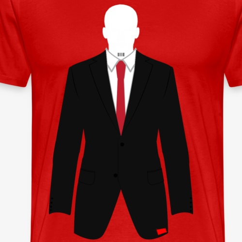The Hitman - Men's Premium T-Shirt