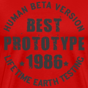 1986 - The year of birth of legendary prototypes - Men's Premium T-Shirt