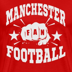 Manchester Fan - Premium T-skjorte for menn