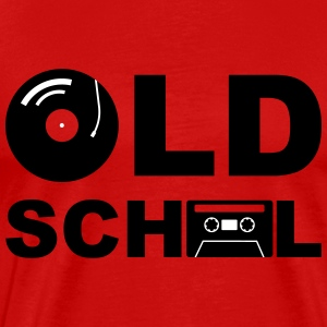 Old School - Herre premium T-shirt
