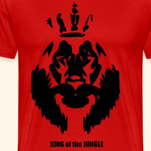king of the jungle - Männer Premium T-Shirt