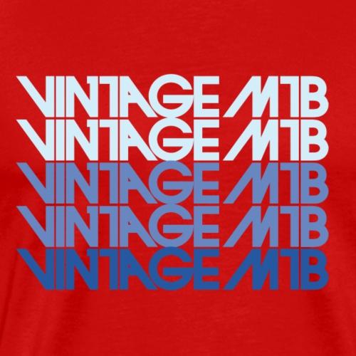 vintage mtb - Männer Premium T-Shirt