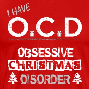 OCD Christmas - Men's Premium T-Shirt