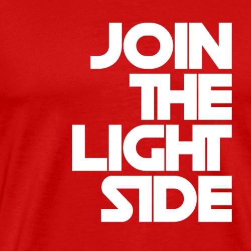 Join the light side B - Maglietta Premium da uomo