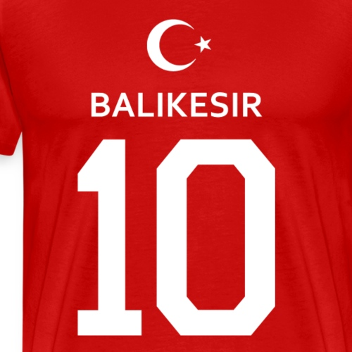 Türkei Balikesir 10 - Männer Premium T-Shirt