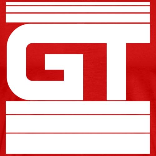 Gymtastic - GT - Striche - Weiß - Sportbekleidung - Männer Premium T-Shirt