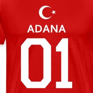 türkiye adana 01 - Männer Premium T-Shirt