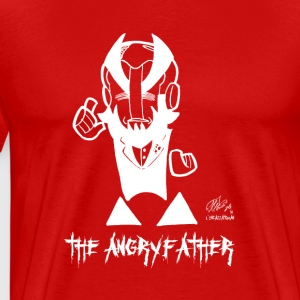 THE ANGRYFATHER - Premium-T-shirt herr