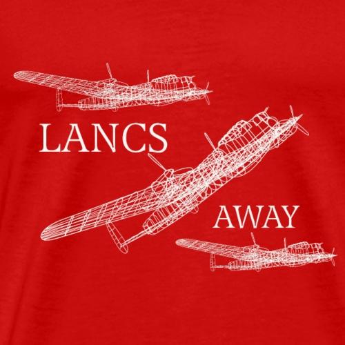 Lancs Away - Men's Premium T-Shirt