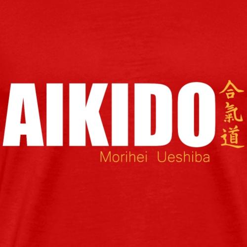 aikido arte marcial japon kanji - Camiseta premium hombre
