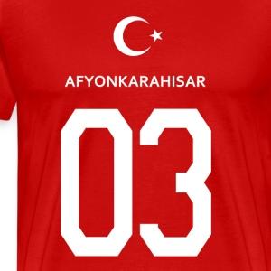 Türkei Afyonkarahisar 03 - Männer Premium T-Shirt