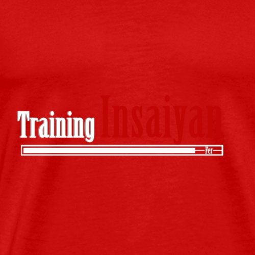 Training Insaiyan - Mannen Premium T-shirt